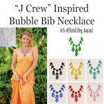 """J Crew"" Inspired Bubble Bib Necklace"