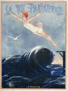 La Vie Parisienne  1923  Art by Vald'es