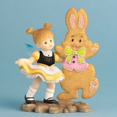 Easter Bunny Dance Fairie - $25.99 - This adorable pixie and her bunny friend are the perfect way to add some Easter cheer to your decor, wouldn't you say? :)