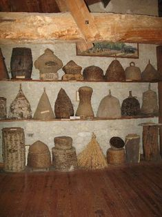 Bee Skep Collection... Some Of These Are Amazing!!! A Truly Incredible Collection!!!