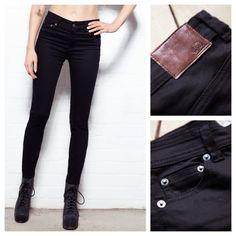 Bellfield Perth Skinny Stretch Jeans Black...