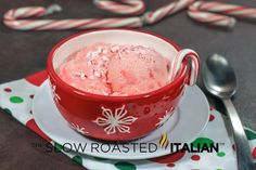 Candy Cane Peppermint Ice Cream