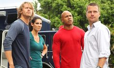 Deeks, Kensi, Sam, and Callen