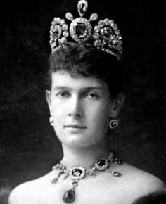 The Grand Duchess Maria Pavlovna the Older of Russia, also known as the Grand Duchess Vladimir.