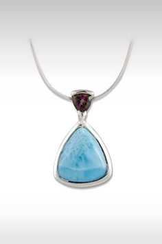 Larimarket - MarahLago Spectral Collection Larimar Necklace with Mystic Topaz, $198.00 (http://www.larimarket.com/marahlago-spectral-collection-larimar-necklace-with-mystic-topaz/)