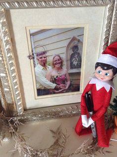 Elf on the Shelf found the Sharpie stash!