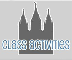 YW activity ideas that can easily be altered to fit Activity Day Girls...