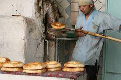 Bread Making, Uzbekistan | Flickr - Photo Sharing!