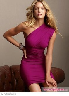 Love one shoulder dresses!!!