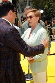 2010 Julie Andrews and Steve Carrell on Despicable Me premiere