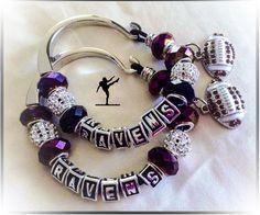 Baltimore Ravens Jewelry inspired Bracelet