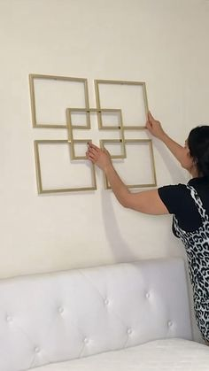 Design Your Own Home, Home Room Design, Diy Mirror Decor, Fall Room Decor, Bedroom Wall Designs, Diy Crafts For Home Decor, Hallway Decorating, Diy Wall Art, Home Decor Furniture