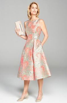 Adrianna Papell Dress & Accessories available at #Nordstrom