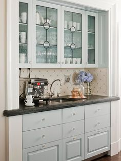 Faux leaded glass change doors and glass stylish ideas for kitchen cabinet doors planetlyrics Images