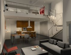 VANTAGE LOFTS  Loft G Living