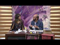 CW Artesanato - Carlos Saad - Mulher.com - Rede Século XXI - Maleta Esponjado com Efeito Marmorizado - YouTube