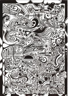 black white drawings - Google Search