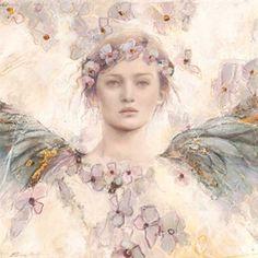 Os Anjos de Elvira Amrhein (pintora - painter) - Elvira Amrhein Angels