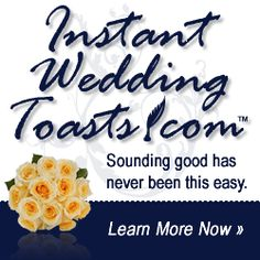 Wedding Speech, Wedding Speeches, Funny Wedding Toasts, Best Man Speeches, Maid of Honor Sister Speeches