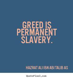best talk for greedy people