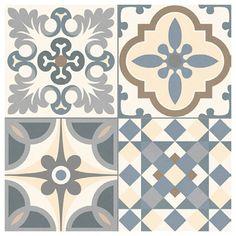 Tile Trends - the tile experts, importers and distributors of quality tiles Tile Art, Wall Tiles, Tile Patterns, Textures Patterns, Ceramic Texture, Victorian Tiles, Rustic Bathroom Designs, Vintage Tile, Graphic Wallpaper