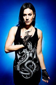Cristina Scabbia (testimonial for Alchemy Gothic)