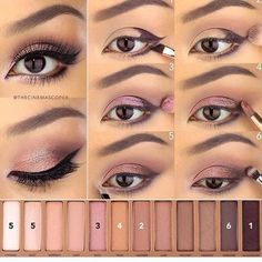 Easy Summer Eyeshadow Tutorials #SummerVibes