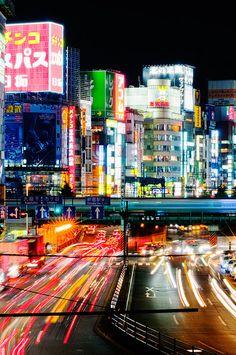 Night lights | Shinjuku