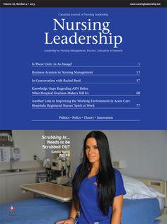 Nursing Leadership Vol. 26 No. 4 2013
