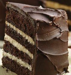 Deep Dark Mocha Torte- Oh so bad for me, but its ohhhh soo good!!