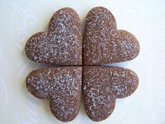 {cocoa earl grey cookies} sweet!
