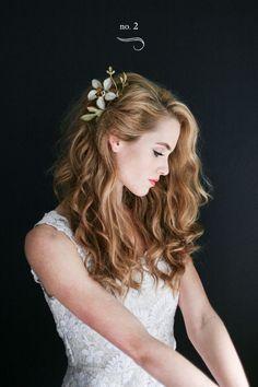 Modern wedding hair style. . . . #weddinghair #bridesmaidhair #weddinghairdo