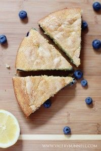 Blueberry Lemon Buttermilk Cake