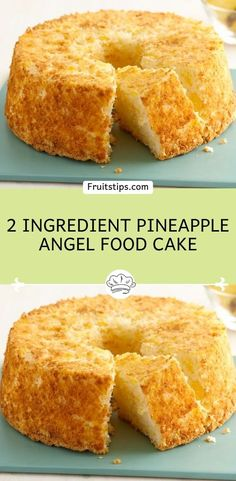 delicious desserts don't get much lighter or simpler than this easy ww pineapple angel food cake. Ingredient 1 box angel food cake mix (i use betty crocker) 1 large can (about 20 Köstliche Desserts, Delicious Desserts, Dessert Recipes, Yummy Food, Pineapple Angel Food, Pineapple Recipes, Pineapple Upside, Angel Food Cake And Crushed Pineapple Recipe, Crushed Pineapple Cake