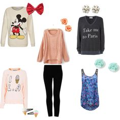 """""""What To Wear with Black Leggings"""" by luhill on Polyvore"""