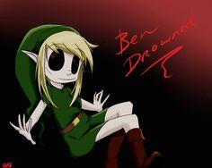 BEN DROWNED by Rarasmilekiller