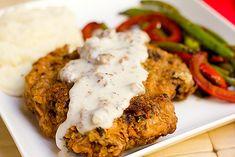 Chicken Fried Steak with Sawmill Gravy