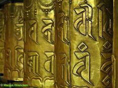 Prayer wheels, Palace HH the Dalai Lama, Dharamsala, India Dalai Lama, History Of Buddhism, Theravada Buddhism, Indian Eyes, Dharamsala, Eastern Philosophy, Om Mani Padme Hum, Mughal Empire, Buddha Quote