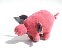 A Pink Piglet by zfla on Etsy Cute Tights, Grand Opening, Blythe Dolls, Dinosaur Stuffed Animal, My Favorite Things, Pink, Handmade, Stuff To Buy, Etsy