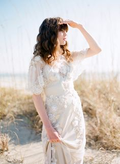 This blog photoshoot has some really great dress ideas...plus the faux sandals…