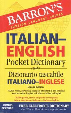 Barron's Italian-English Pocket Dictionary: Dizionario tascabile / Italiano-Inglese