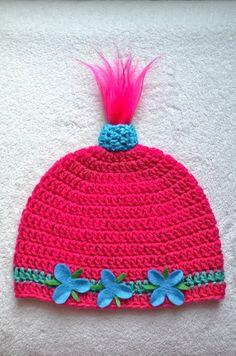 Princess Poppy Inspired Hat Princess Troll Hat by MyCreativeMuse