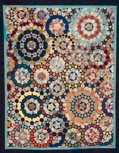 Quilt for blanket chest--Festival of Quilts 5