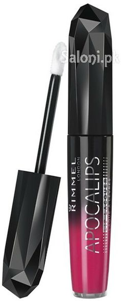 RIMMEL LONDON APOCALIPS LIP LACQUER NUDE ECLIPSE Saloni™ Health