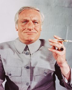 "(1971) Charles Gray played SPECTRE founder Ernst Stavro Blofeld in ""Diamonds Are Forever"""