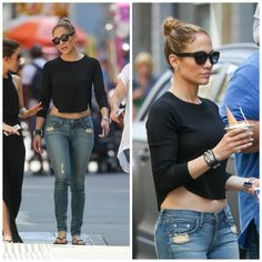 Relaxed Hair Health: What JLO has taught us about dressing down and being fabulous