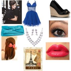 """""""Date with Harry at the Eiffel Tower for Sofia"""" by directioner-tommogirl-143 on Polyvore"""