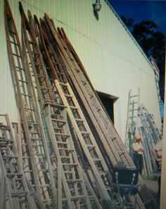 Able to purchase a few ladders....several orchard owners were bidding me out of my wallet.   A wonderful day even though.