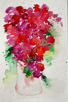 Resultado de imagen para bouganville impressionist painting