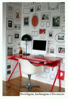 BEAUTIFUL WALLPAPER!!! Cuadros pintados en la pared